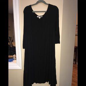 Black Living Doll swing dress
